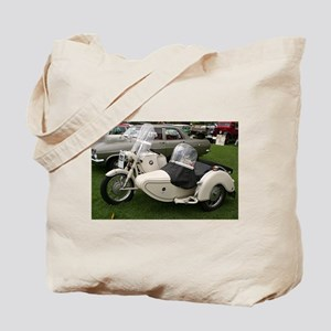 BMW Motorcycle with Sidecar Tote Bag