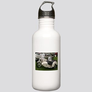 BMW Motorcycle with Sidecar Stainless Water Bottle