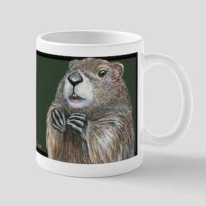 Emerging Groundhog Mug Mugs