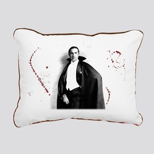 Dracula Rectangular Canvas Pillow