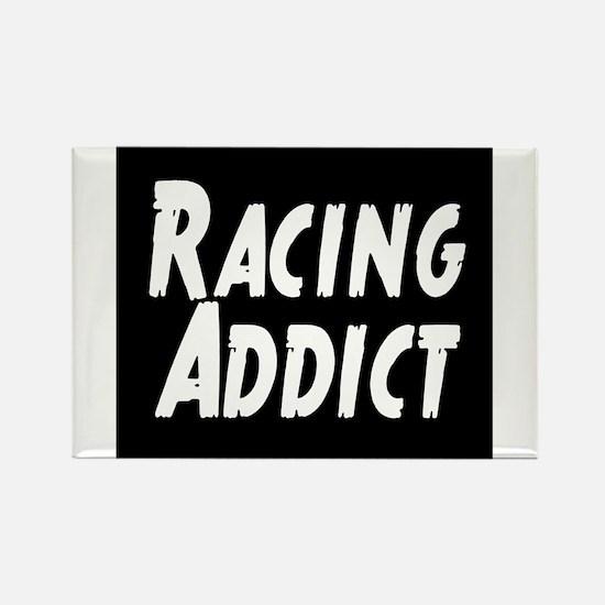 Racing addict Rectangle Magnet