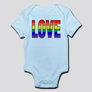 Love Is Never Wrong Infant Bodysuit