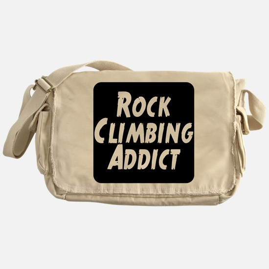 Rock Climbing Addict Messenger Bag