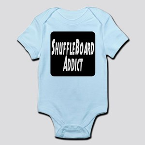 Shuffleboard Addict Infant Bodysuit