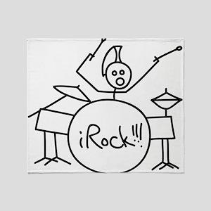 iRock Stick Man Playing Drums with Mohawk Stadium