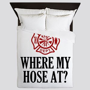 Where My Hose At? Queen Duvet
