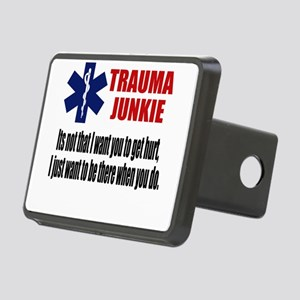 Trauma Junkie Rectangular Hitch Cover