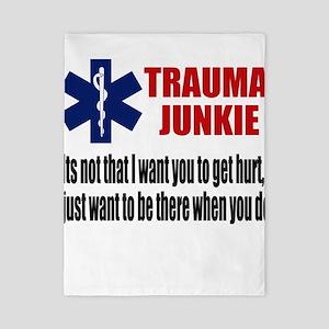 Trauma Junkie Twin Duvet