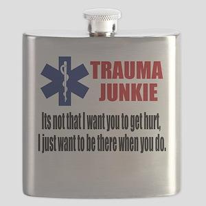 Trauma Junkie Flask
