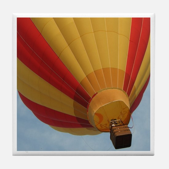 Red and Yellow Balloon Tile Coaster