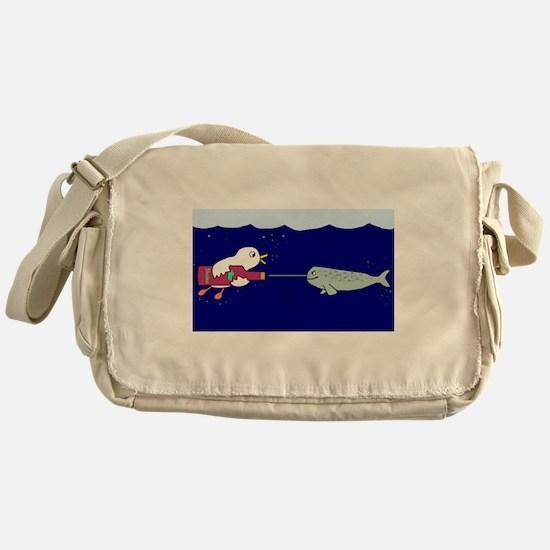 Give me a hand! Messenger Bag