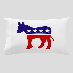 Democrat Party Donkey Pillow Case