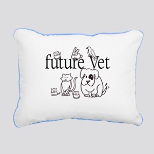 future Vet Rectangular Canvas Pillow