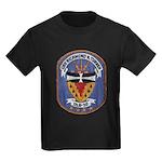 USS RICHMOND K. TURNER Kids Dark T-Shirt