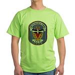 USS RICHMOND K. TURNER Green T-Shirt