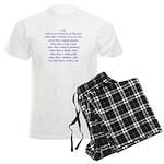 St Francis Prayer Men's Light Pajamas