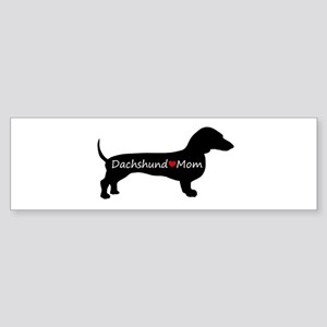 Dachshund Mom Sticker (Bumper)