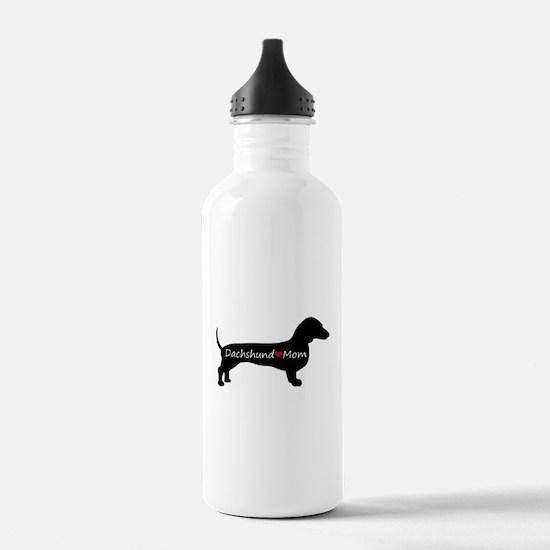 Dachshund Mom Water Bottle