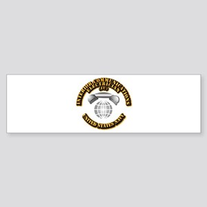 Navy - Rate - IC Sticker (Bumper)