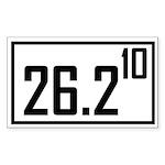 26210 Sticker (Rectangle 10 pk)