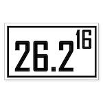 26216 Sticker (Rectangle 10 pk)
