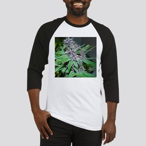 Organic Purple Bud Baseball Jersey