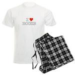 I Love Books Men's Light Pajamas