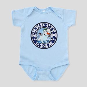 Park City Snowman Circle Infant Bodysuit