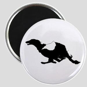 Running Silken Windhound Magnet