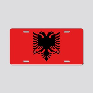Flag of Albania Aluminum License Plate
