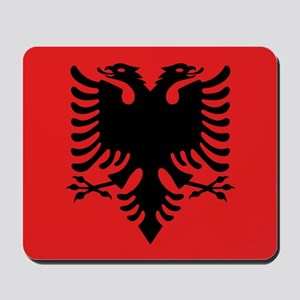 Flag of Albania Mousepad
