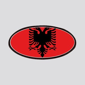 Flag of Albania Patches
