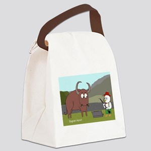 English Horn? Canvas Lunch Bag