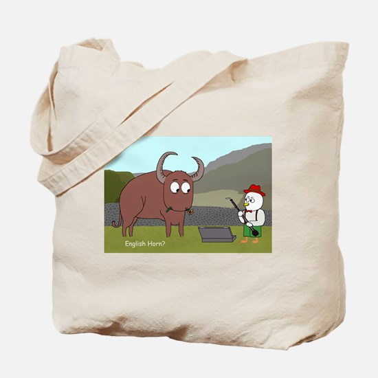 English Horn? Tote Bag