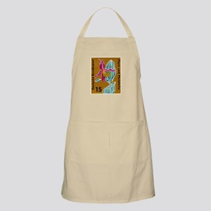 Germany Orchid Postage Stamp Apron