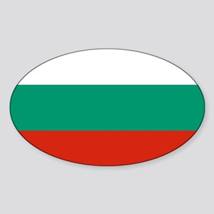 Flag of Bulgaria Sticker (Oval)