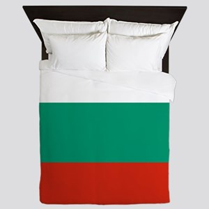 Flag of Bulgaria Queen Duvet