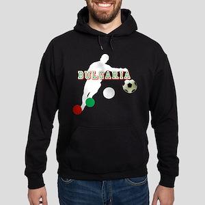 Bulgarian Soccer Player Hoodie (dark)