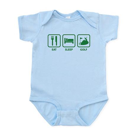 Eat Sleep Golf Infant Bodysuit
