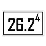 2624 Sticker (Rectangle 10 pk)