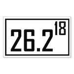 26218 Sticker (Rectangle 10 pk)