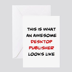 awesome desktop publisher Greeting Card
