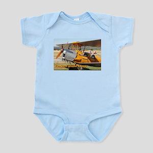I'm just plane crazy: Tiger Moth Infant Bodysuit