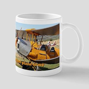I'm just plane crazy: Tiger Moth Mug