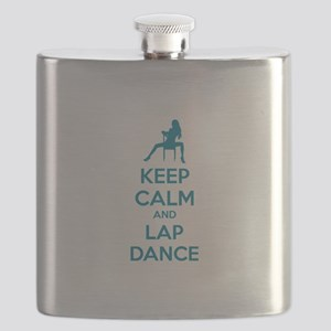 Keep calm and lap dance Flask