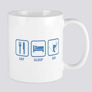 Eat Sleep Ski Mug