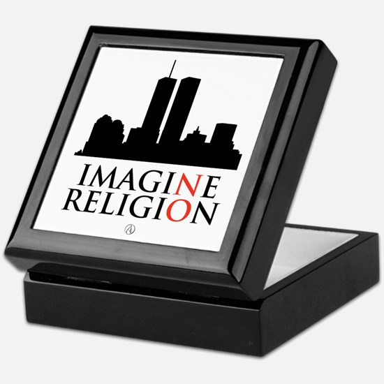 Imagine No Religion Keepsake Box