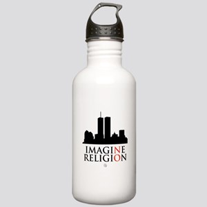 Imagine No Religion Stainless Water Bottle 1.0L