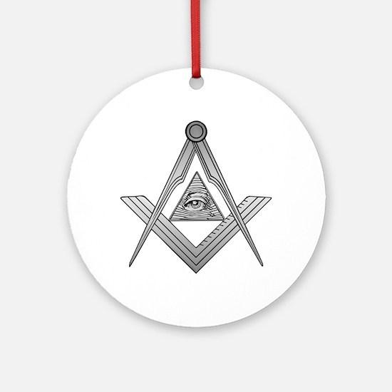 Mason Illuminati Ornament (Round)