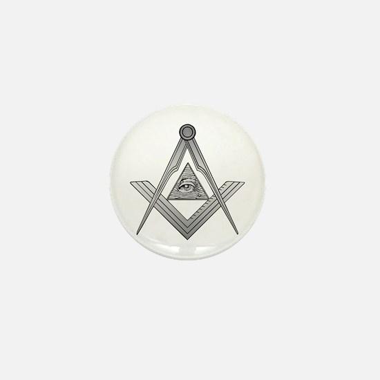 Mason Illuminati Mini Button (10 pack)